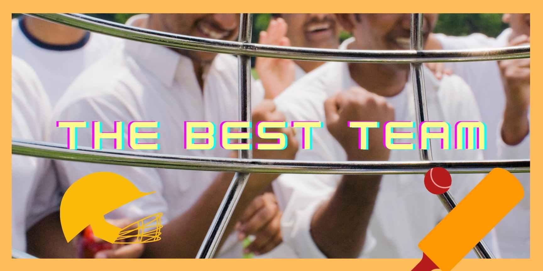 best cricket team